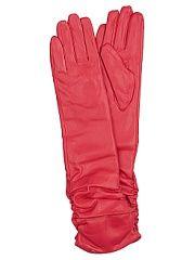 Перчатки Punta  Перчатки изготовлены из экокожи внутри искусственный стриженный мех. Длина перчатки- 58 см. Яркий цвет перчаток преобразят ваш осенний образ!. Перчатки Punta промокоды купоны акции.