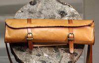 Transverse-flute-leather-case-bag-leder fully hand sewn