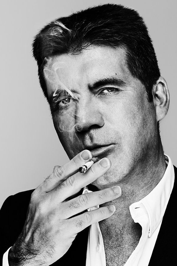Simon Cowell by Dean Chalkley.  such a cocky bastard.  but i really enjoyed him on American Idol...