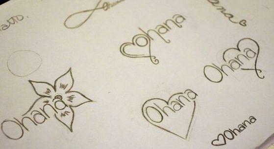 25 Originales Tatuajes de Ohana con gran significado