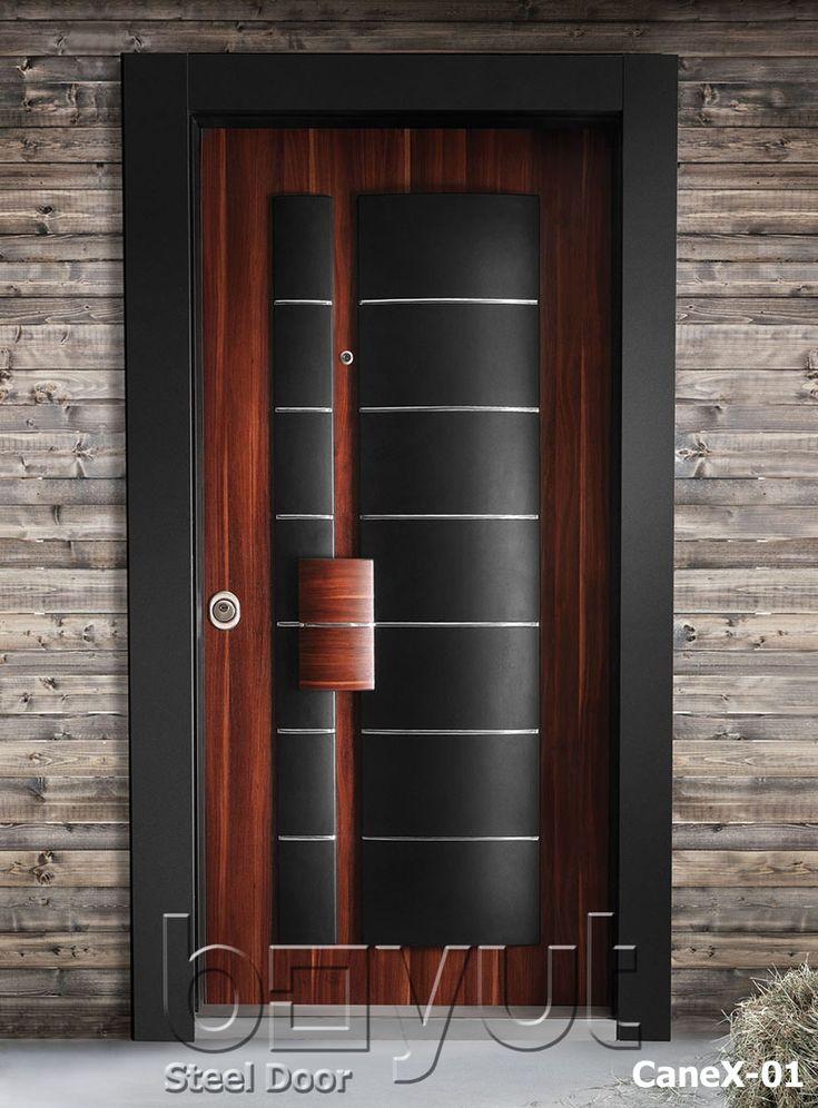 """*Model """"CaneX-01"""" *Steel Security Door, *Entrance Door"""