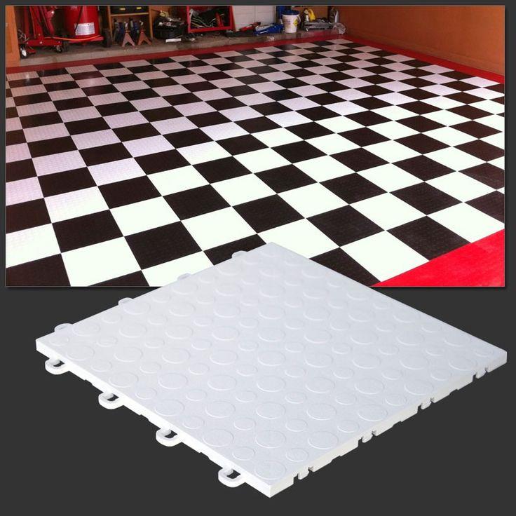 New Plastic Garage Floor Tiles