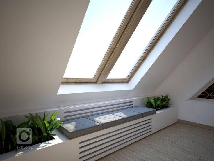 Návrh kuchyně a obýváku v podkrovním mezonetovém bytě. Vymazlený design je ve stylu skandinávský minimalismus. V kuchyňské části s dřevodekorem na horních…