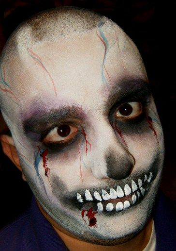 face painting for childrens parties entertainment for corporate parties and dances face painting claremont halloween zombiehalloween - Zombie Halloween Faces