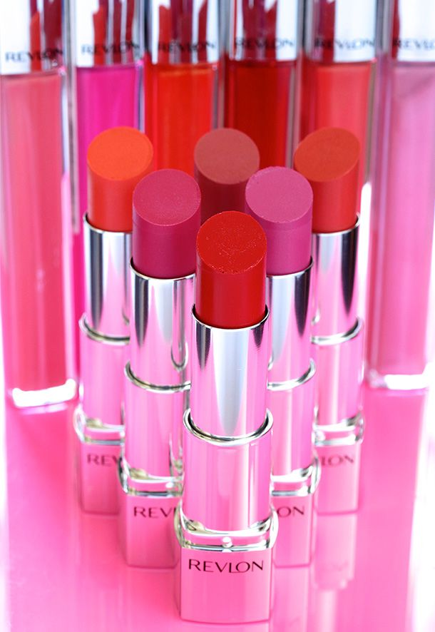 I really like these new Revlon Ultra HD Lipsticks and Lip Lacquers. Pretty good pigments for $10.
