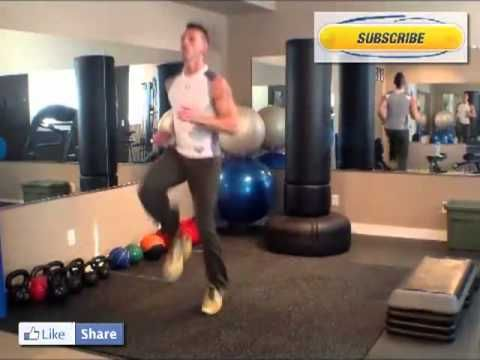 Calgary Personal Trainer High Knee Tutorial. How to do High Knees by Bou...