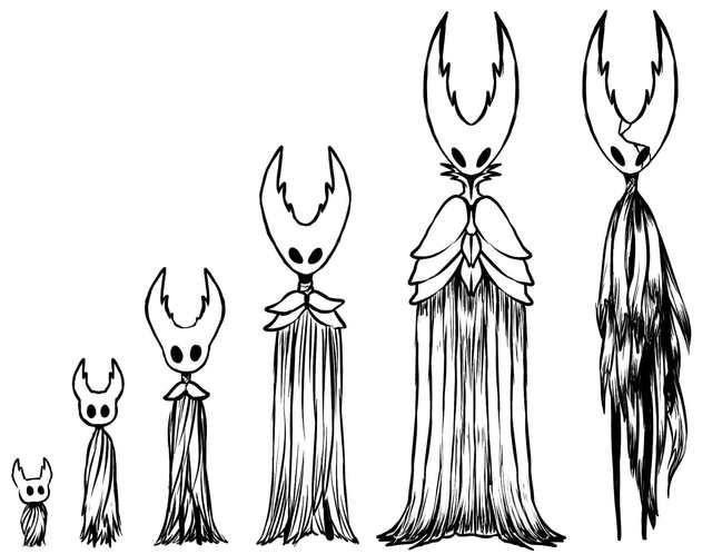 Hornet Hollow Knight Fanart by Zummeng Art Character Design