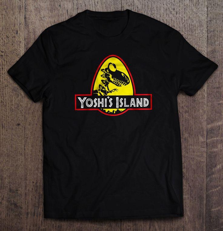 Yoshi's Island Jurassic Park Parody T Shirt