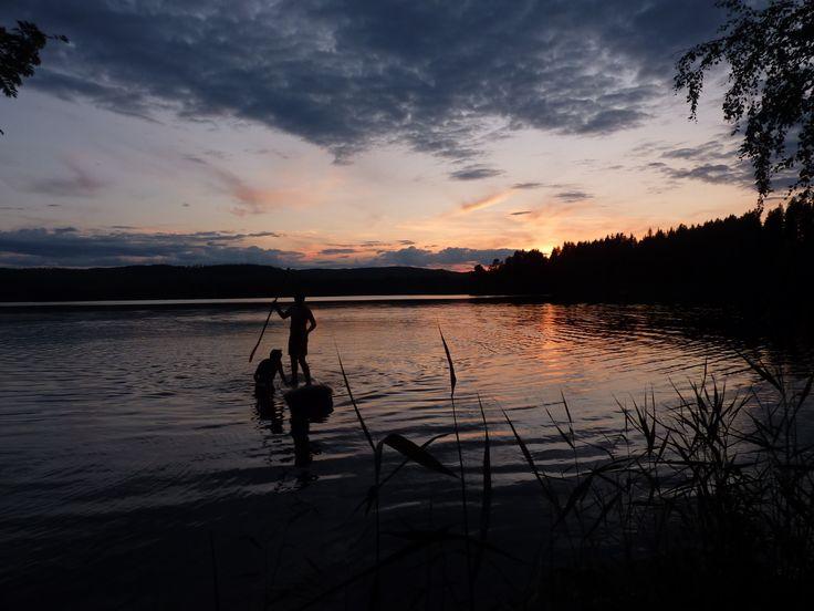 SUP på Ängersjön sommar 2014