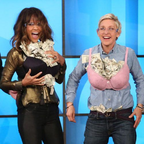 http://www.eonline.com/news/641188/halle-berry-shows-off-her-beautiful-sexy-husband-approved-lingerie-to-ellen-degeneres-watch-now