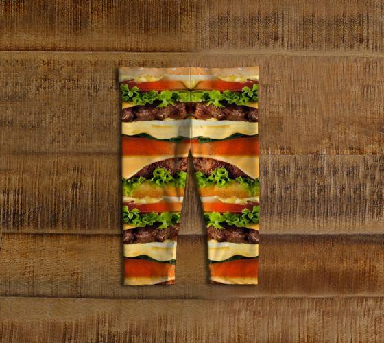Burger Me! Baby Leggings - Available Here: http://artofwhere.com/shop/product/71298