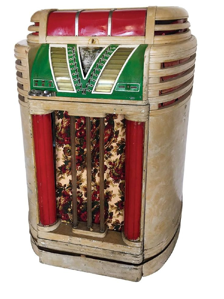 Coin-operated jukebox, Seeburg Mayfair, Very Rare
