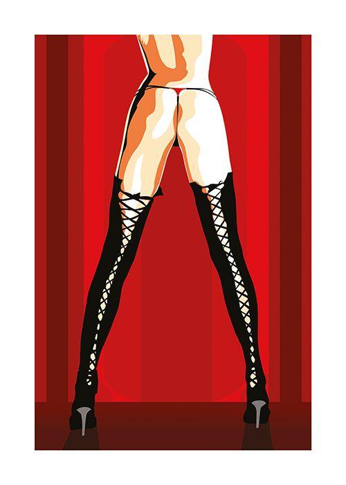 #Poster #Kunstdruck Fine Art Print Chao Zhang Long Legs Twenty Four Gallery #twentyfourgallery #illustration #artprint #art