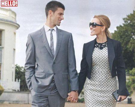 Tennis: Novak Djokovic Jelena Ristic Hello Magazine Serbia