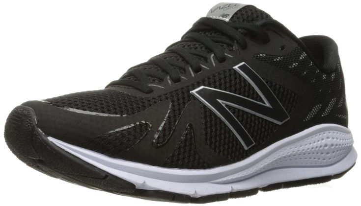New Balance Women's Vazee Urge v1 Running Shoe, Black/White, 7.5 B US. Rapid rebound midsole. Molded sock liner. Bootie construction.