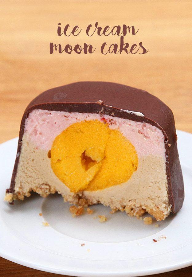 Ice Cream Moon Cakes