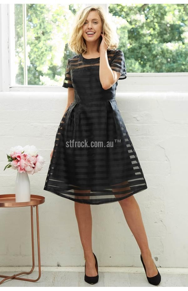 Chasing Kate Zara Dress in Black