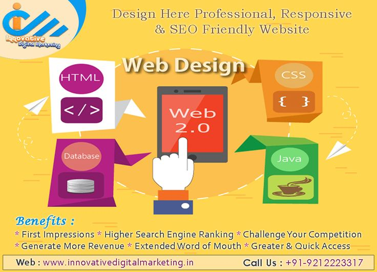 Design Here Professional, Responsive & SEO Friendly Website  Innovative Digital Marketing is widely famous for its noteworthy solution regarding website designing and development.  Let's connect with our website designing company in delhi, where you will find complete guidance and advises regarding your need of designing a web portal.  Visit https://www.innovativedigitalmarketing.in/ to know more about web designing company in west delhi.