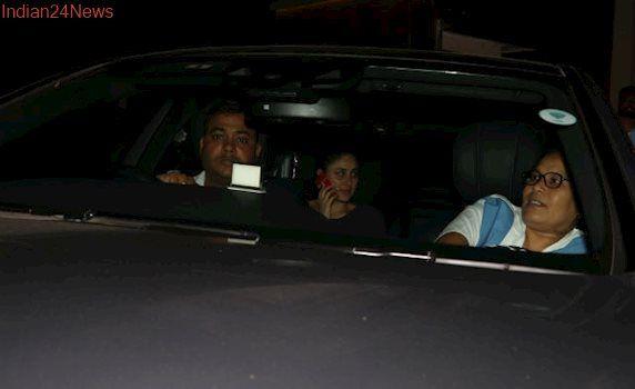 Kareena Kapoor And Baby Taimur Spotted On A Drive. See Pics