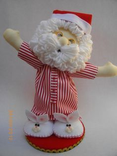 manualidades papa noel en pijama - Google Search