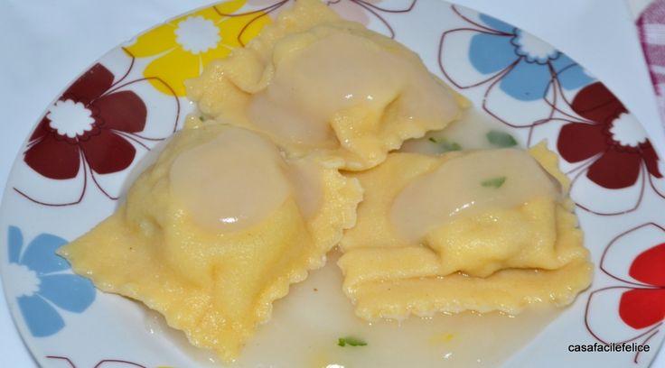 Ravioli di polpo e pesce spada. on http://casafacilefelice.org