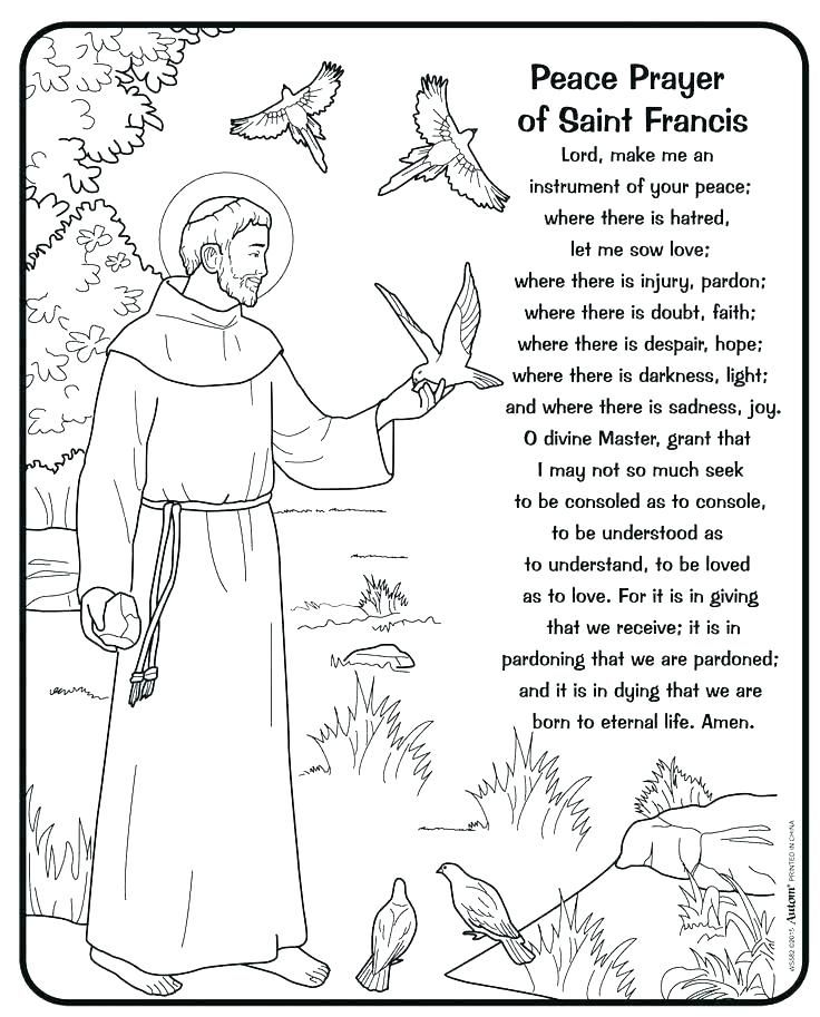 Excellent Design Ideas St Francis Of Assisi Coloring Page Saint Con Google St Francis Assisi Francis Of Assisi Quotes Saint Francis Prayer