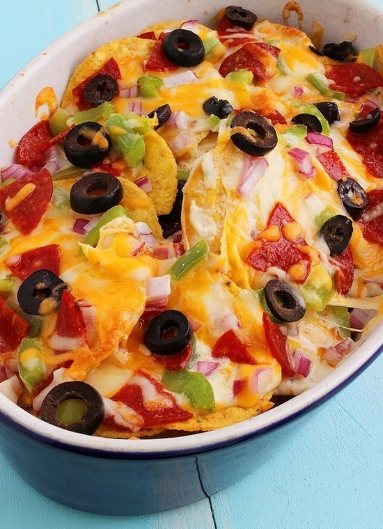 The Comfort of Cooking  Marks Pizza Nachos