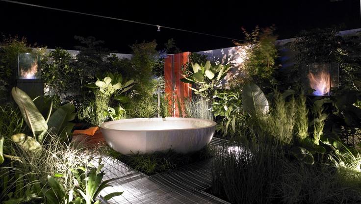 The haven bath by Apaiser. #apaiser #stone #bath #bathroom #eco #sustainable #interiors #house #home #design