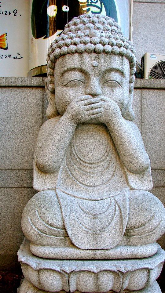 Speak No Evil Buddha •˚•                                                                                                                                                                                 Mais