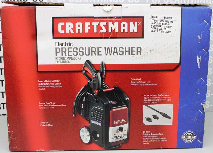 Craftsman Electric Pressure Washer