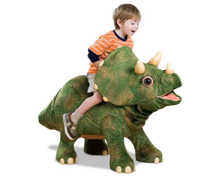 Kota the Robotic Triceratops Dinosaur ...my child would freak. Makes me wish I hadn't bought his Christmas presents already.