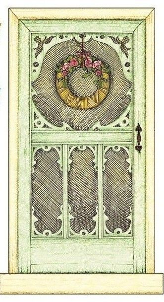 graphic about Dollhouse Windows Printable known as Doll Doorway Shots - Opposite Look