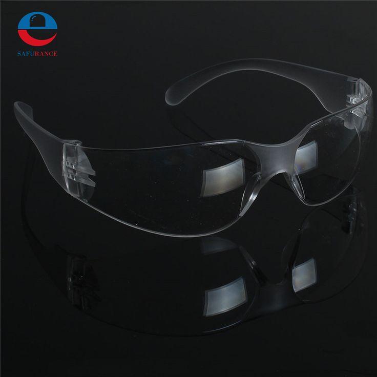 1 PCS Keselamatan Kacamata Perlindungan Mata Pelindung Lab Clear Lens Kacamata Persediaan Keselamatan Kerja