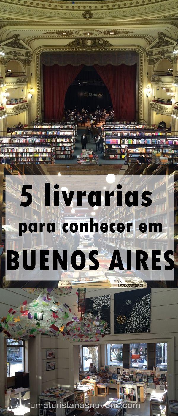 A capital da Argentina é um paraíso para quem gosta de livros. Confira essas dicas de 5 livrarias incríveis para conhecer em Buenos Aires.