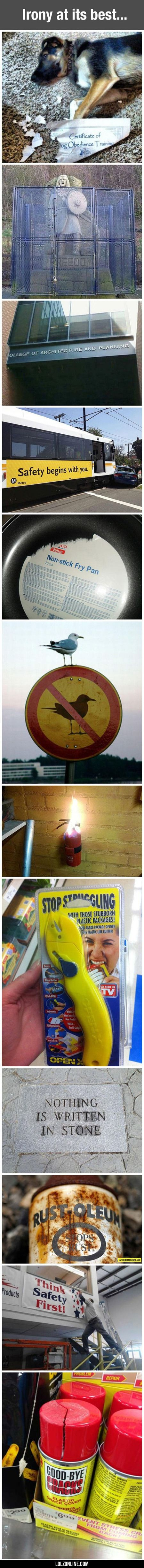 Irony At Its Best... #lol #haha #funny