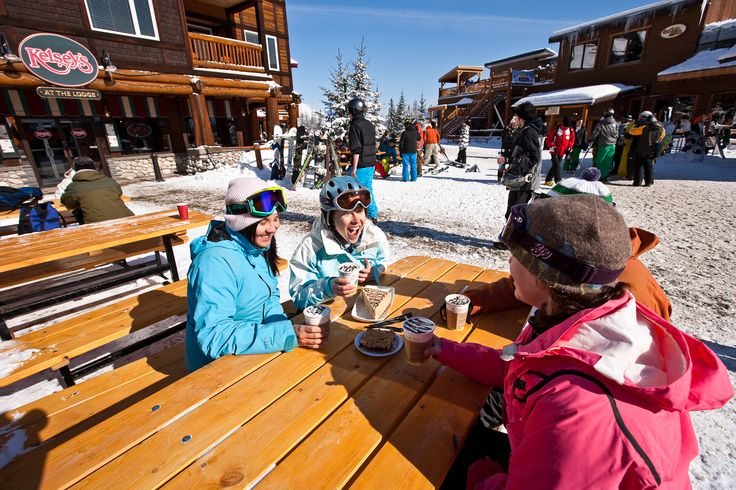 Cheesecake and and hot chocolate at Kelsey's down at the resort base. Photo: henrygeorgi.com