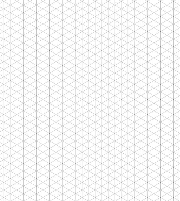 Gargantuan image within printable isometric graph paper