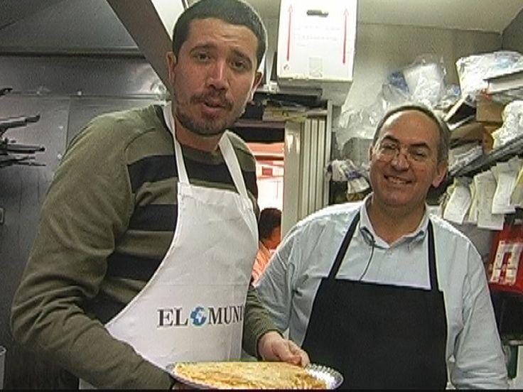 Posiblemente la mejor tortilla de patatas de Madrid.