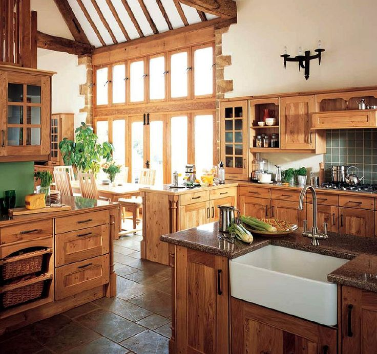 English Country Kitchen Design Glamorous Design Inspiration
