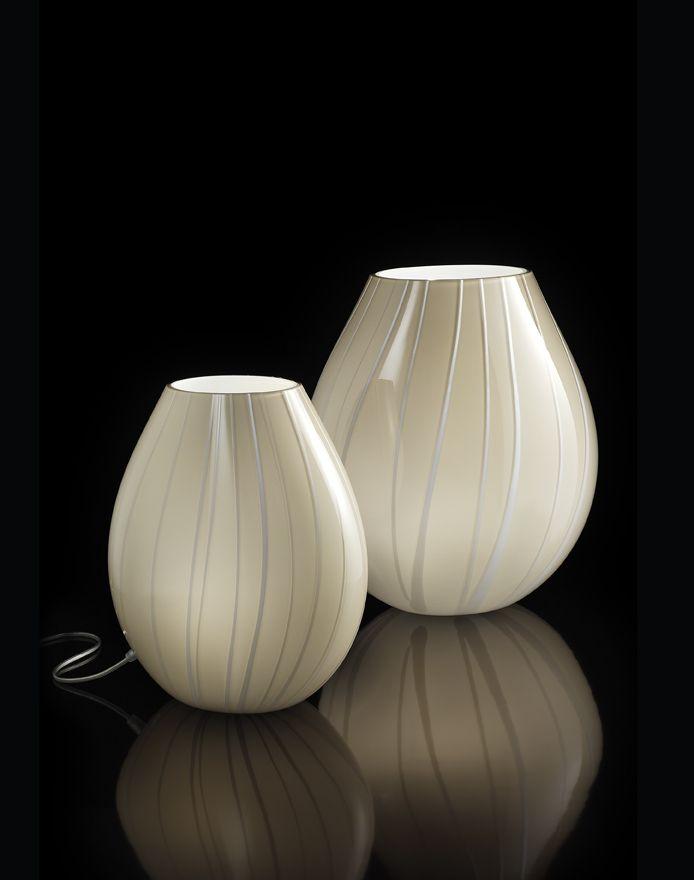 Delightful #Dove Strings #MuranoGlass #table #lamp Images