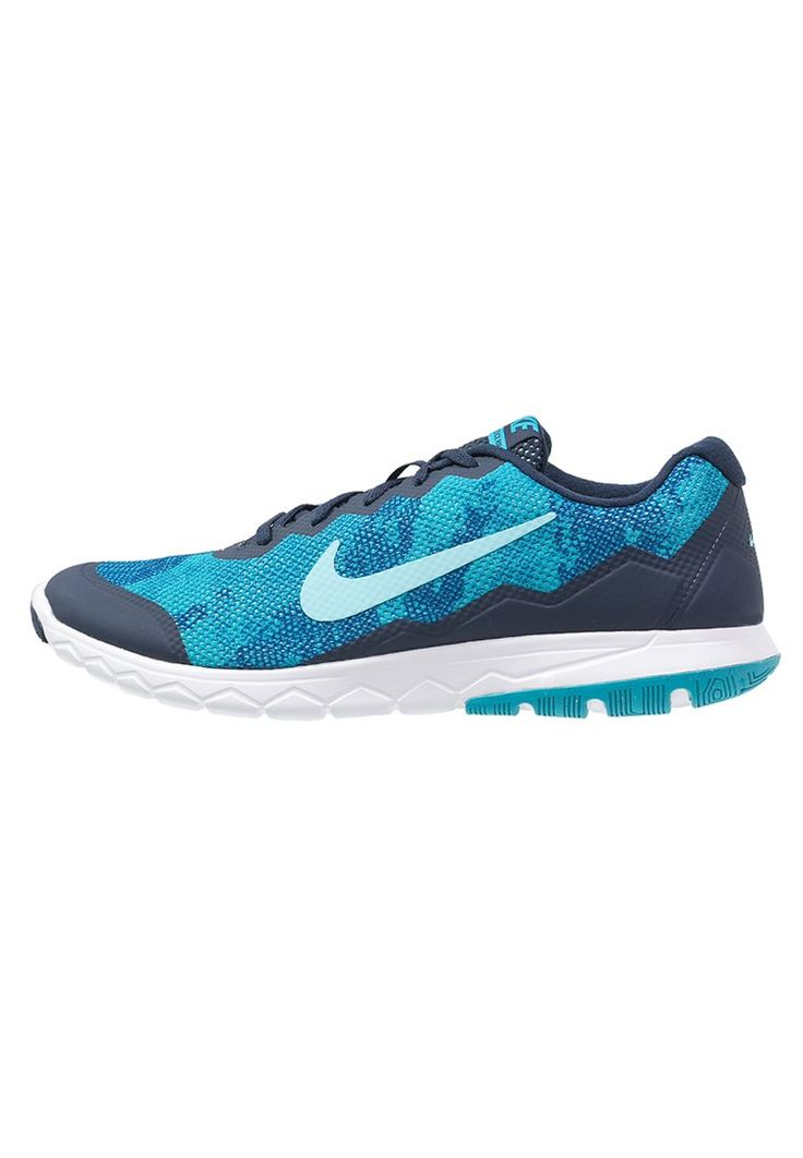 Bestill Nike Performance FLEX EXPERIENCE RN 4 - Lette løpesko - midnight navy/tide pool blue/blue lagoon/white for kr 509,00 (29.11.15) med gratis frakt på Zalando.no