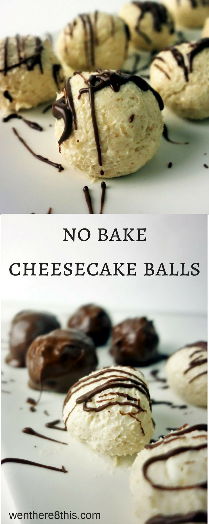 Learn how to make the best 4 ingredient no bake cheesecake balls.