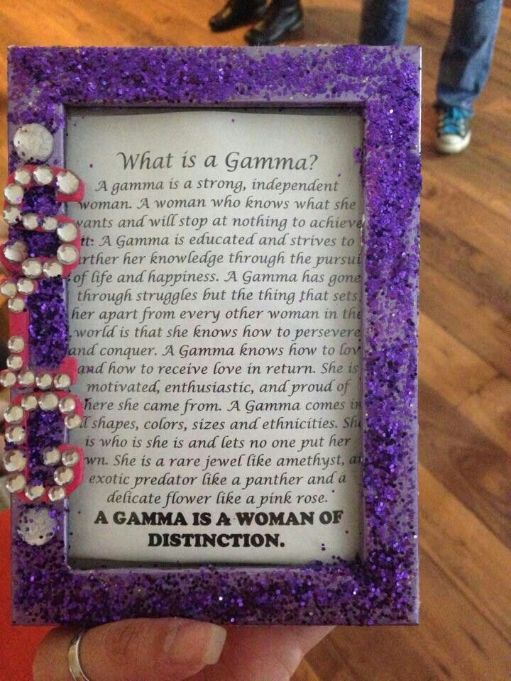 What is a gamma? #sigmalambdagamma #slg #gammas #sorority #hermanasporvida