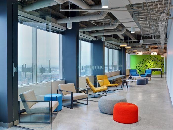 Les nouveaux bureaux de Linkedin à Toronto où il fait bon vivre !