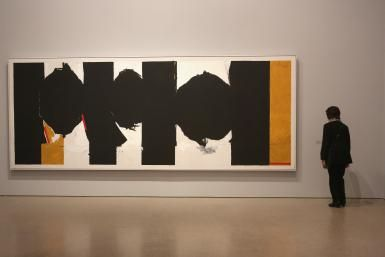 Artist Spotlight: Robert Motherwell: Elegy to the Spanish Republic, No. 126, by Robert Motherwell