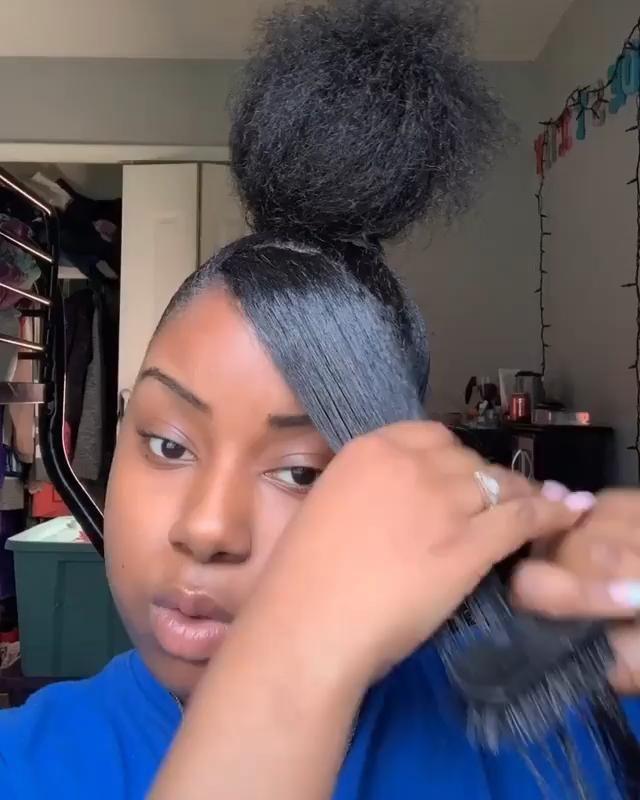 Hair Weaves Videos In 2020 Weave Hairstyles Natural Hair Styles Natural Hair Styles Easy