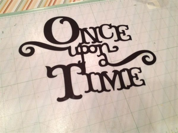 Once Upon A Time Calligraphy Once upon a Time - #wr...