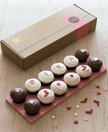 """Sprinkles Cupcakes """"Design Your Own"""" Cupcake Box (available for delivery)"""