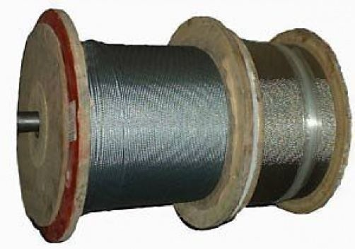 100m Coil Of 3mm 7x7 Construction Spun Galvanised Wire Rope Wire Cable