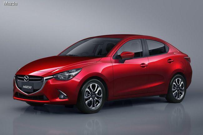 #Mazda2 обзавелась версией с кузовом седан.